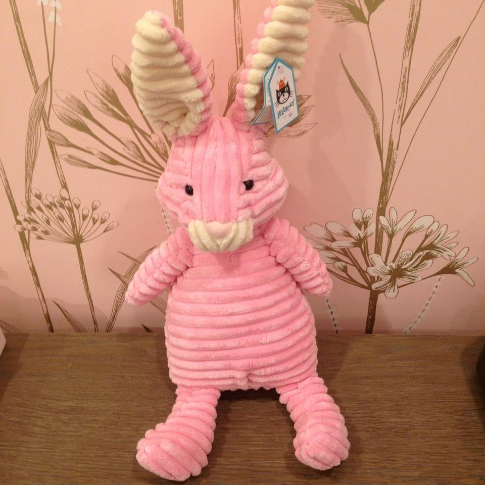 Stuffed Bunny by Jellycat