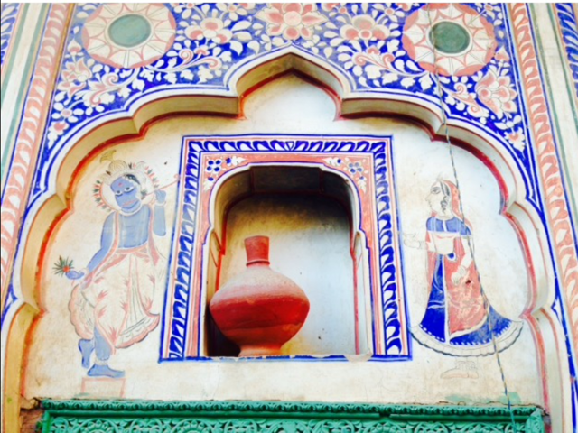 Tilework in India